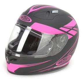 HJC Black/Fushia Force FG-17 Helmet - 632-884