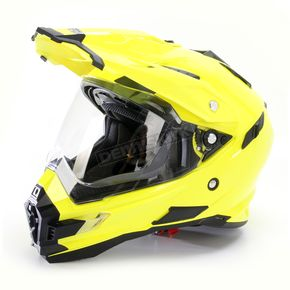 AFX Hi-Vis Yellow FX-41DS Helmet - 0110-3774