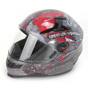 Speed and Strength Rage With The Machine SS1300 Helmet - 87-6458