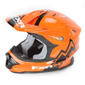 FXR Racing Orange Mountain Air Blade Super Lite Helmet - 14411