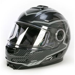FXR Racing Charcoal/Black Fuel Modular Helmet  - 14430