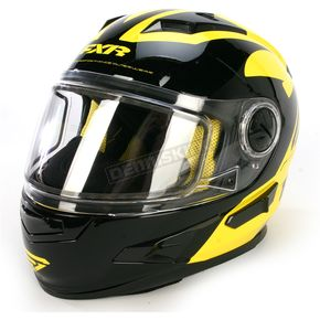 FXR Racing Yellow/Black Nitro Helmet - 14432