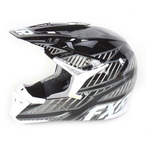 FXR Racing Black/Charcoal X-1 Helmet - 14422