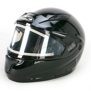 HJC Black CL-MAXIIBTSN Modular Helmet w/Electric Shield - 59-24209