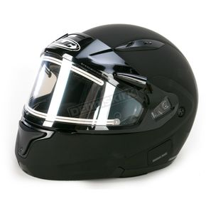 HJC Matte Black CL-MAXIIBTSN Modular Helmet w/Electric Shield - 073-616