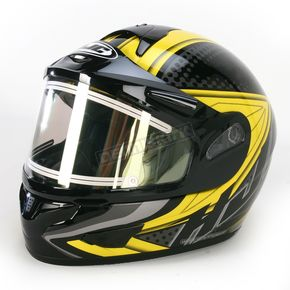 HJC Black/Yellow/Black CL-16SN Voltage Helmet w/Electric Shield - 119-936