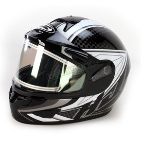 HJC Black/Silver/Black CL-16SN Voltage Helmet w/Electric Shield - 119-956