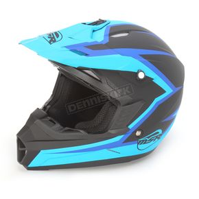 MSR Racing Blue/Black Assault Helmet - 359385