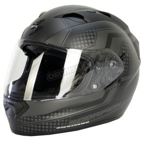 Scorpion Black/Gray EXO-T1200 Alias Phantom Helmet - T12-1424