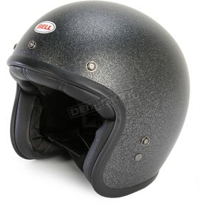 Bell Helmets Metallic Black Flake Custom 500 Helmet - 7062360
