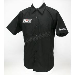 Throttle Threads Hot Bike Shop Shirt - HBM2S24BK