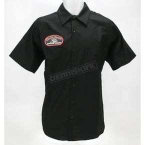 Throttle Threads Speed Shop Shirt - TT110S24BK3R