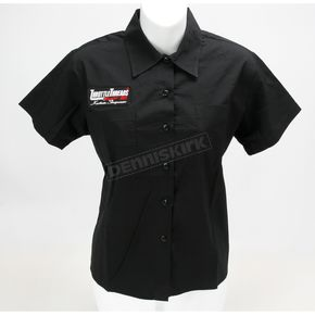 Throttle Threads Junior Fit #1 Mudflap Shop Shirt - TT125S22BKSR