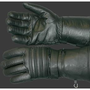 Hot Leathers Lined Leather Gauntlet Gloves - GVM1001XXXL