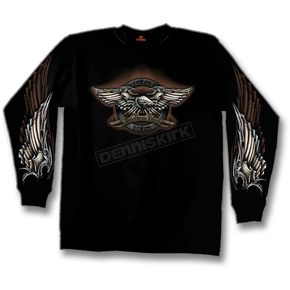 Hot Leathers Ride Free Long Sleeve T-Shirt - GM08S242