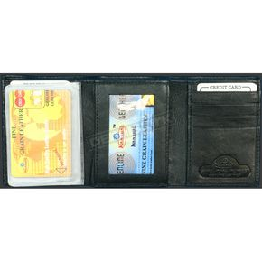 Hot Leathers Leather Tri-Fold Wallet - WLD1004
