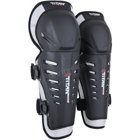 Fox Titan Race Knee Shin Guards - 08059-464-OS