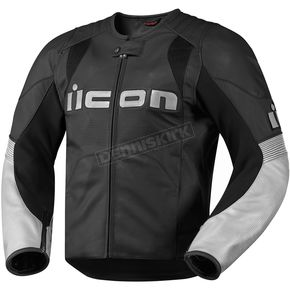 Icon Black Overlord Leather Jacket - 2810-1881