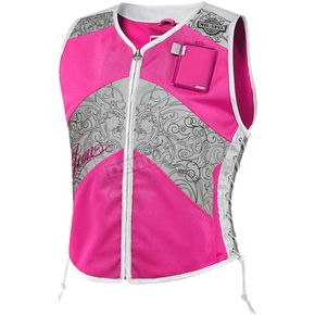 Icon Womens Military Spec Pink Corset Vest - 2831-0053