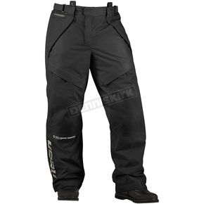 Icon Black Patrol Waterproof Overpant - 2855-0074