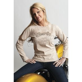 Easyriders Roadware Women's Monarchy Long Sleeve Tee - 3172XXL