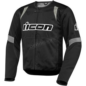 Icon Black Overlord Nylon Jacket - 2820-1942
