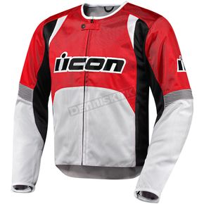 Icon Red Overlord Nylon Jacket - 2820-1959