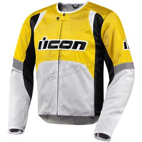 Icon Yellow Overlord Nylon Jacket - 2820-1971