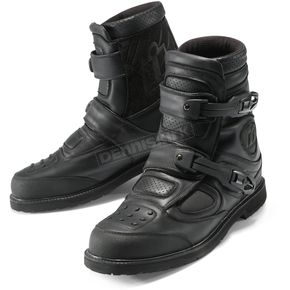 Icon Black Patrol Waterproof Boots - 3403-0202