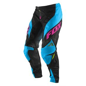 Fox Electric Blue Platinum Race Pants - 04283-029-28