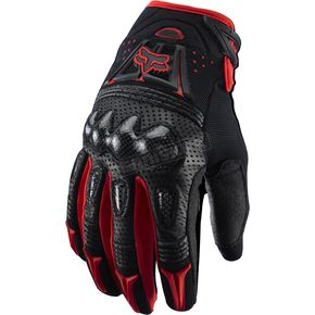 Fox Red/Black Gloves - 03009-003-M(9)