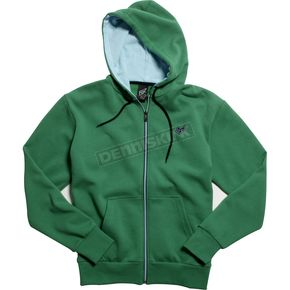 Fox Youth Boys Green Mr Clean Zip Hoody - 45027-004