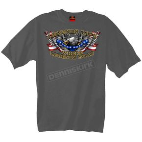Hot Leathers Patriotic Upwing T-Shirt - GMD1111M