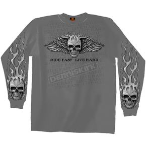 Bad Scratch Long Sleeve T-Shirt