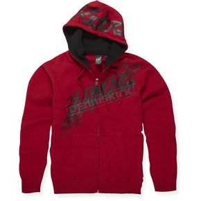 Fox Red Sonic Flash Zip Hoody - 45169-003-L