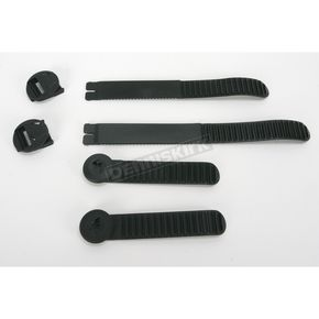 Thor Black Ratchet Boot Strap Kit - Sizes 7-11 - 3430-0331