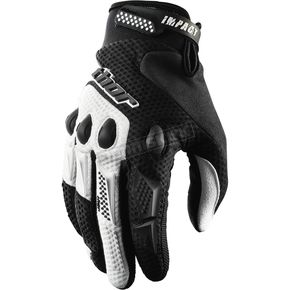 Thor Black Impact Gloves - 33302311