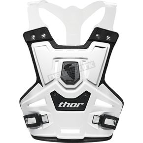 Thor Youth White Sentinel Pro Roost Deflector - 2701-0524