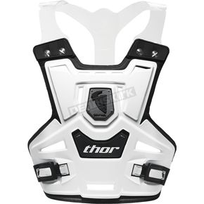 Thor White Sentinel Pro Roost Deflector - 2701-0526