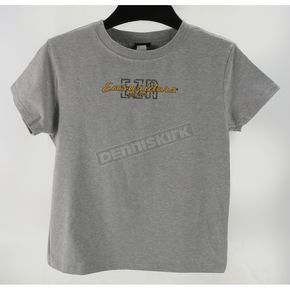 Easyriders Roadware Womens Gray Heather T-Shirt - 2121L