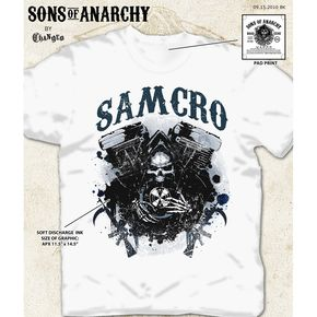Sons of Anarchy Samcro Hungry Reaper T-Shirt - 28-601-46WH-S