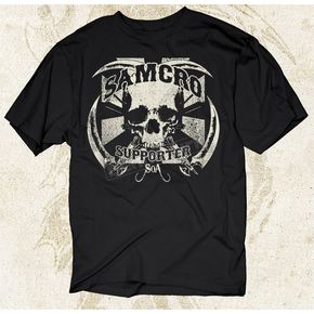 Sons of Anarchy Samcro Supporter T-Shirt - 28-605-47BK-XXL
