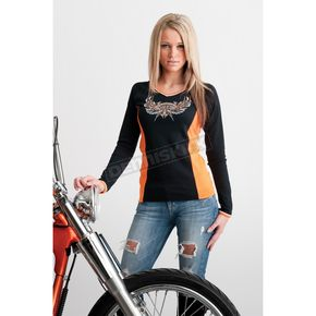Easyriders Roadware Womens Trick or Treat Long Sleeve T-Shirt - 3181XXXL