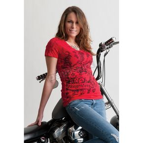 Easyriders Roadware Womens Hot Shot T-Shirt - 2164L