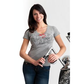 Easyriders Roadware Womens Heartburn T-Shirt - 2167XXXXL
