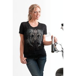 Easyriders Roadware Womens Smoke & Mirrors T-Shirt - 2171L