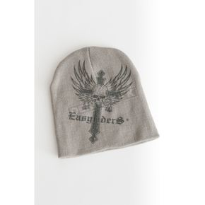 Easyriders Roadware Dare Devil Gray Beanie - 7184