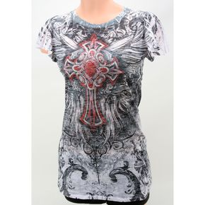 Vocal Womens Flutter Sleeve T-Shirt - Sublimation