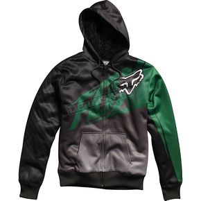 Fox Black/Green Enterprize Sasquatch Zip Hoody - 45290-008