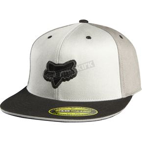 Fox Graphite Harmonize Flexfit Hat - 68091-103-L/XL
